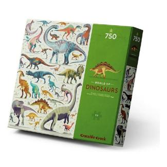 Puzzle World of Dinosaurs Crocodile Creek