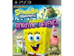 Jogo PS3 Spongebob Squarepants – Planktons Robotic Revenge