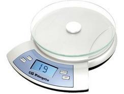 Balança de Cozinha ORBEGOZO PC 2030 (Capacidade: 2 Kg – Precisão: 1 g)