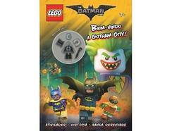 Livro Lego The Batman Movie – Bem-vindo a Gotham City