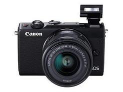 Canon EOS M100 – Preto + EF-M 15-45mm f/3.5-6.3 IS STM – Preto + Cartão de Memória + Bolsa