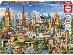 Puzzle 2D EDUCA Símbolos da Europa