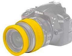 Aros protetores para lente EASYCOVER 52 mm Amarelo