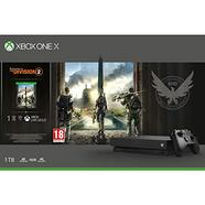 Consola XBOX ONE X + Tom Clancy's The Division 2 (1TB – M18)