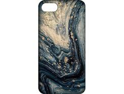 Capa iPhone 6, 6s, 7, 8 FUNNY CASES Mármore Cinza