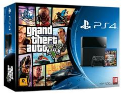 Consola PS4 GTA V (500 GB – Preto)