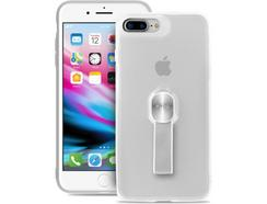 Capa PURO Magnet Strap iPhone 7 Plus, 8 Plus TRANSPARENTE