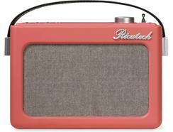 Rádio Despertador RICATECH PR78 Rosa