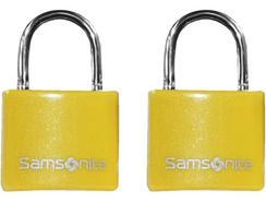 Cadeados com chave SAMSONITE em Amarelo