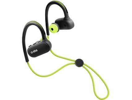 Auriculares Bluetooth SBS Runner BT (In Ear – Microfone – Verde)