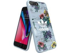 Capa ADIDAS Floral iPhone 6 Plus, 6s Plus, 7 Plus, 8 Plus Multicor