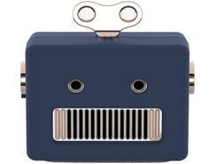 Coluna BT QUSHINI Robot Azul