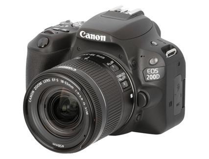 ... STM + Cartão SD + Bolsa. Canon EOS 200D + EF-S 18-55mm f 4-5.6 IS fce8321fe20b