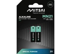 Pilhas Não Recarregáveis MITSAI MN21 (MN – 2 Unidades)