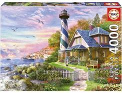 Puzzle 2D EDUCA Farol em Rock Bay