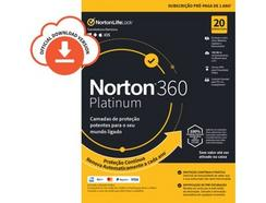 Software NORTON 360 Platinum 75GB (10 Dispositivos – 1 Ano – Smartphone, PC e Tablet – Formato Digital)