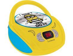 Leitor Rádio/CD Minions RCD108DES Amarelo