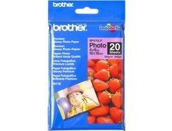 Papel Fotográfico BROTHER 10X15-20FLS-BP61GLP