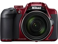 Máquina Fotográfica Compacta NIKON Coolpix B700 (Vermelho – 20,3 MP – ISO: 100 a 1600 – Zoom Ótico: 60x)