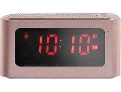 Rádio Despertador CLIPSONIC TES186P (Rosa – Digital -Bateria)