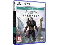 Jogo PS5 Assassin's Creed Valhalla (Drakkar Edition – M18)