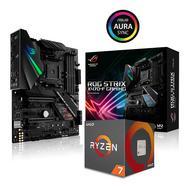 Bundle MB Asus ROG Strix X470-F Gaming + CPU AMD Ryzen 7 2700X