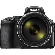Máquina Fotográfica Bridge NIKON Coolpix P950 (Preto – 16 MP – ISO: 100 a 6400 – Zoom Ótico: 83x)