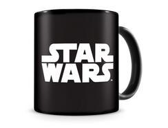 Star Wars – Caneca Preta c/ Logo Branco