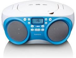 Rádio Portátil LENCO SCD 301 (Azul – 13 W)