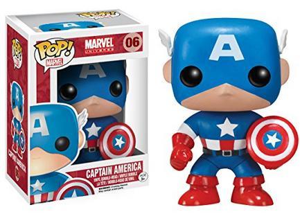 Figura Vinil FUNKO POP! Marvel Capitão América