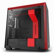 Caixa Extended-ATX NZXT H700 com Janela Preta/Vermelha