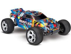 Carro telecomandado DIVERCENTRO RUSTLER 2WD STADIUM TRUCK 1/10 XL-5