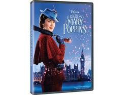 DVD O Regresso de Mary Poppins (capa provisória)