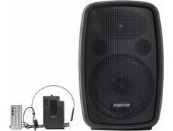 Amplificador FONESTAR AMPLY-P (100 W – Bluetooth – Karaoke)