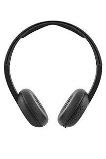 Auscultadores Bluetooth SKULLCANDY UpRoar (On Ear – Microfone – Preto)