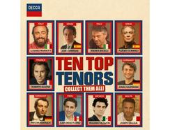 CD Vários:Ten Top Tenors