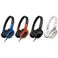 Auscultadores Com fio KEF M400 (On Ear – Microfone – Noise Canceling – Azul)