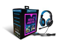 Auscultadores Gaming com Fio + 2 Jogos de PS4 (Dirt Rally 2 + Final Fantasy XV)