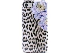 Capa iPhone 6, 6s, 7, 8 PURO Leopard Multicor