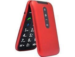 """Telemóvel TELEFUNKEN TM360 COSI (2.8"""" – 3G – Vermelho)"""