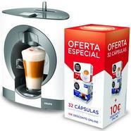 Máquina de Café NESCAFÉ DOLCE GUSTO Krups KP1101P6 + 32 cápsulas