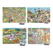 Puzzles Sortidos Comics 1500 Peças Diset