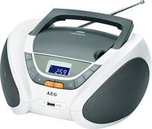Rádio BOOMBOX CD/USB AEG SR-4358 Branco