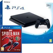 Consola Playstation 4 500 GB + Spiderman