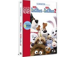 DVD Pack A Vida Secreta dos Nossos Bichos 1 e 2