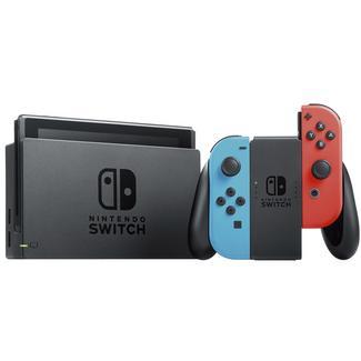Nintendo Switch 32 GB + Conjunto Comandos Joy-Con Azul Néon & Vermelho Néon