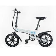 Bicicleta Elétrica SMARTGYRO E-Bike Branca (Autonomia: 30 a 50 km / Velocidade Máx: 25 km/h)
