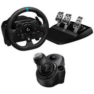 Logitech Pack G923 Volante y Pedales para PC/Xbox One + Driving Force Shifter