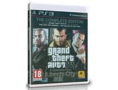 Jogo PS3 Grand Theft Auto IV & Episodes from Liberty City