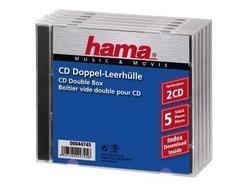 Arquivo CD HAMA Duplo (CD – 5 Unidades)